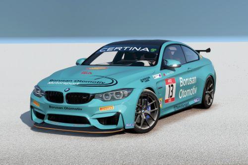 [2014 BMW M4 F82]Borusan Otomotiv Motorsport livery