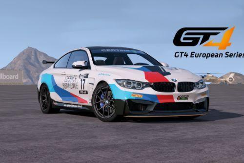 [2014 BMW M4 F82]GT4 European Series livery