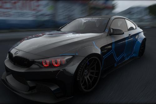 [2014 BMW M4] HEXA Livery