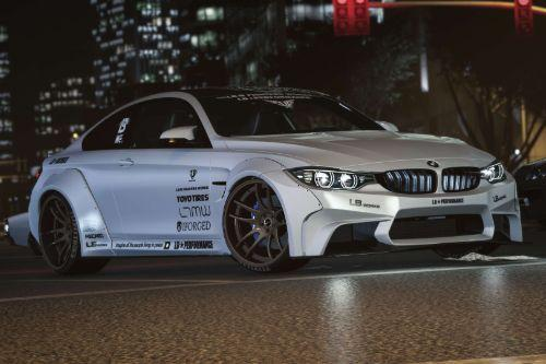 2014 BMW M4 Liberty Walk [Add-On | Tuning | Template]