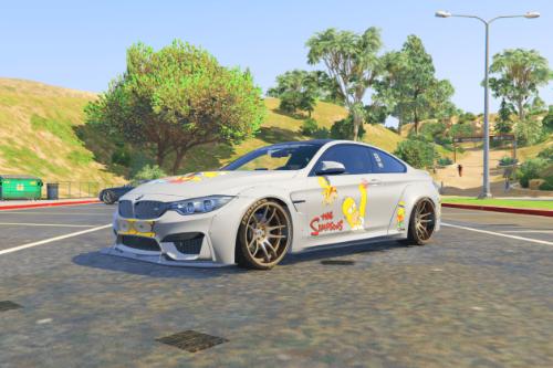 2014 BMW M4 Libery Walk - simpson family [Livery]