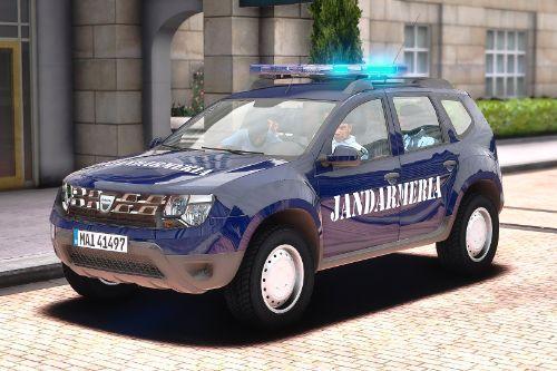 2014 Dacia Duster Jandarmeria Romana cu ELS