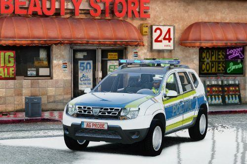 2014 Dacia Duster Politia Romana (Noul Design)