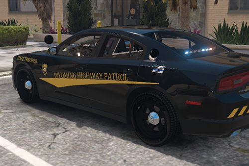 2014 Dodge Charger Wyoming Highway Patrol Livery