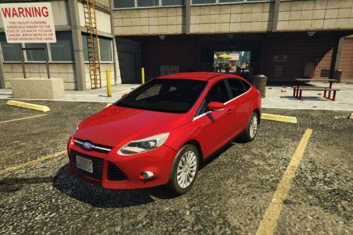 2014 Ford Focus 3 Sedan [Add-On / Replace]