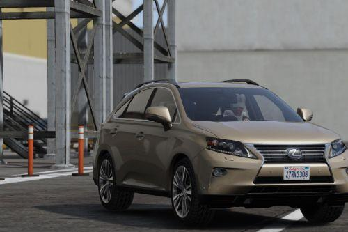 2014 LEXUS RX350 LUXURY [ Replace ]
