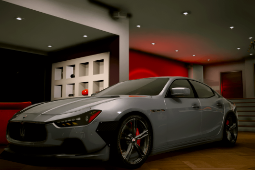 2014 Maserati Ghibli [Add-On | Tuning]
