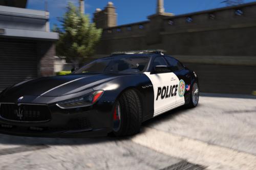 2014 Maserati Ghibli Police [Paintjob]