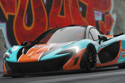2014 McLaren P1-Uniform-GULF (Reference from FH3)