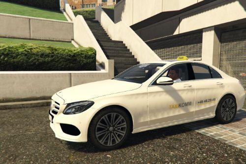 2014 Mercedes-Benz C Class - German Taxi [Paintjob]