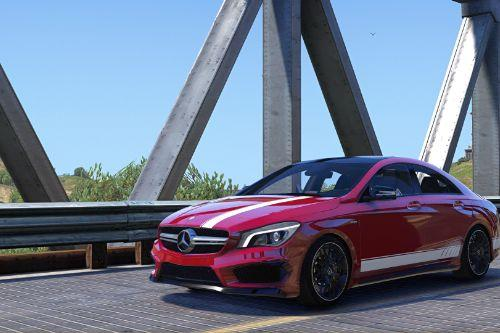 2014 Mercedes-Benz CLA 45 AMG Coupe [Add-On / Replace | Liveries]
