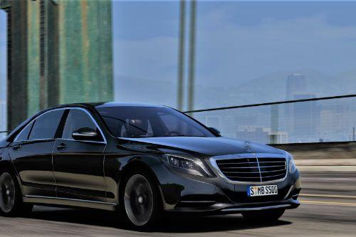 2014 Mercedes-Benz S500 L / S550 4MATIC (W222) [Add-On | Tuning]