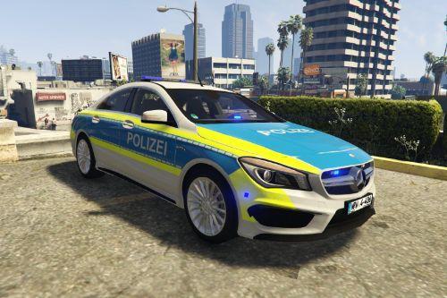 2014 Mercedes CLA 45 Amg Autobahnpolizei NRW (Alarm Für Cobra 11) [Els/replace]