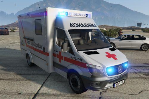 2014 Mercedes Sprinter Ambulancia Cruz Roja Española [Replace/No els]