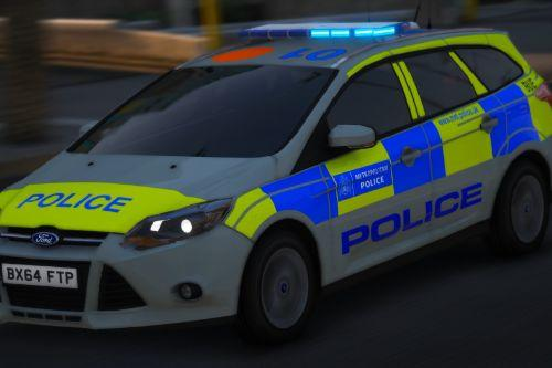 2014 Metropolitan Police Ford Focus IRV [Replace | ELS | Template]