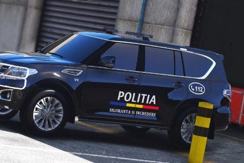 2014 Nissan Patrol Politia Romana