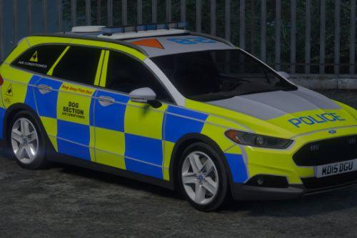 2014 Police Ford Mondeo (Dog Section)