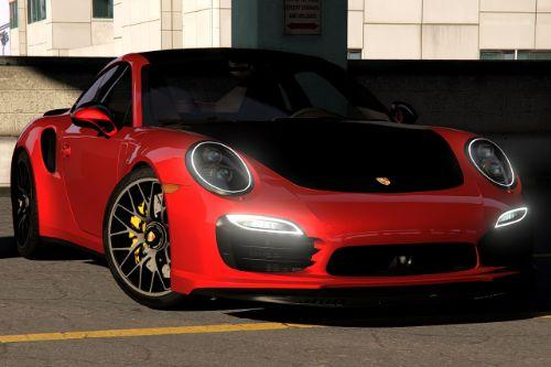 2014 Porsche 911 Turbo S [Add-On | LODs | Template]