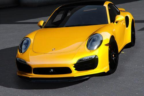 2014 Porsche 911 Turbo S [Add-On | LODs | Template]