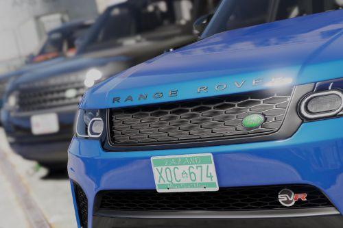 2014 Range Rover Sport SVR 5.0 V8 [Add-on/Replace]