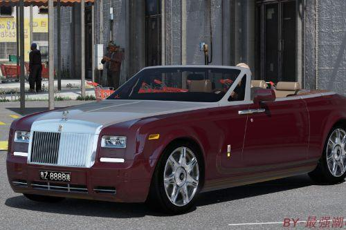 2014 Rolls Royce Phantom Coupe (add-on)