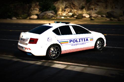 2014 Skoda Octavia Politia Romana
