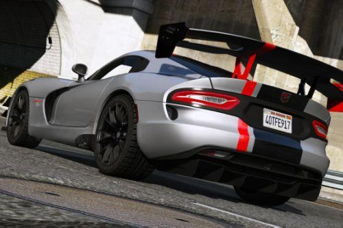 2016 SRT Viper ACR (T/A) [Add-On | Wipers]