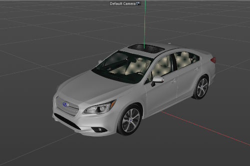2014 Subaru Legacy Limited with HQ Interior Unlocked [Development Model] z3d, obj, mtl, 3ds