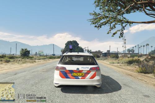 2014 Volkswagen Golf Variant [ELS] [Politie en Kmar] [Replace]