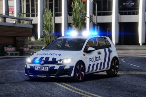 2014 Volkswagen Mk7 Policia Segurança Pública REPLACE//ADD-ON