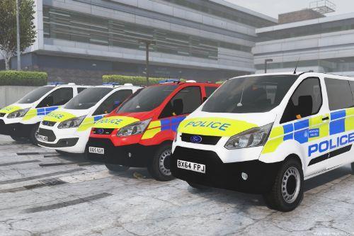 2015-2016 Metropolitan Police Ford Tourneo