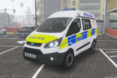 2015-2016 Metropolitan Police Ford Transit Custom