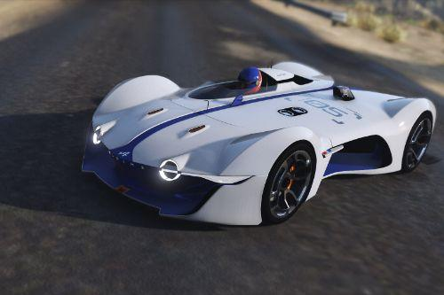 2015 Alpine Vision Gran Turismo Concept [Add-On | Replace]