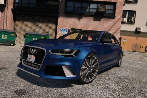 2016 Audi RS6 C7 Performance [Add-On | Tuning |  Liveries]