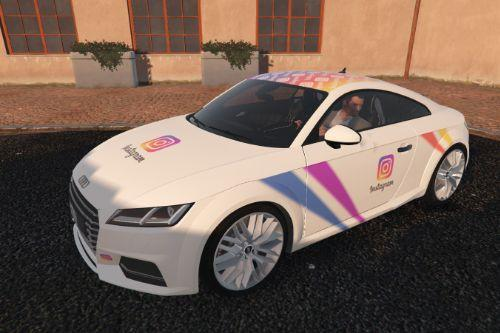2015 Audi TTS - Instagram Design [Paintjob]