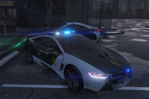 2015 BMW I8 AC Schnitzer Guardia Civil (Spain police Bemeta I8) [No-els]