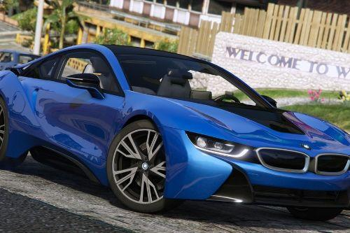 2015 BMW i8 (I12) [Add-On]