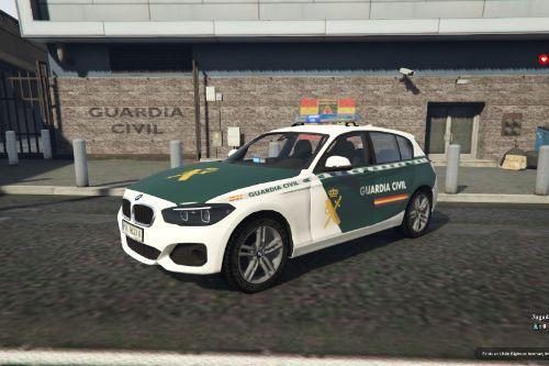 2015 BMW Serie 1 F20 Guardia Civil (Spain police bemeta F20)