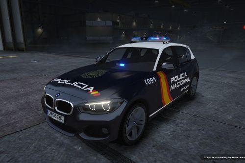 2015 BMW Serie 1 F20 Policia Nacional Española CNP (Spain police) [Replace/no els]