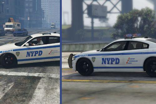 2015 Dodge Charger NYPD Texture