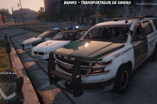 2015 Chevrolet Tahoe Guardia Civil (spain police)