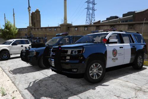 2015 Chevrolet Tahoe LAPD [Unlocked | Template]