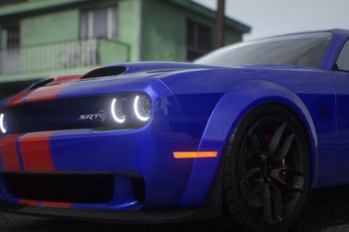 Dodge Challenger [Add-On | Tuning (Shaker/Hellcat/Redeye/Demon/Liberty Walk) ]