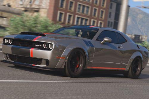 2016 Dodge Challenger [Add-On / Replace | Tuning (Shaker/Hellcat/Demon/Liberty Walk) ]