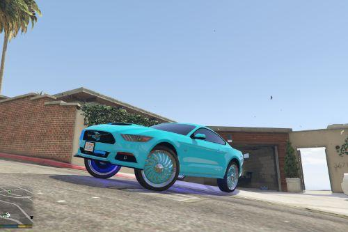 2015 Ford Mustang Donk Model