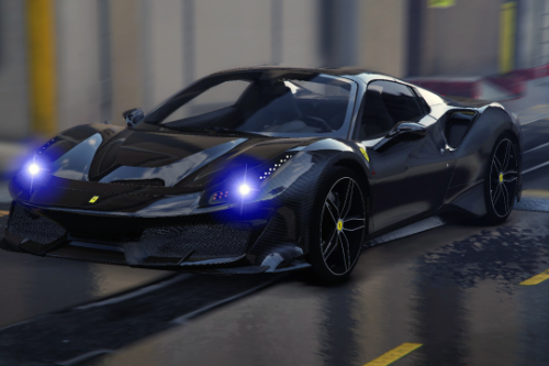 2015 Ferrari 488 GTB | carbon body kit