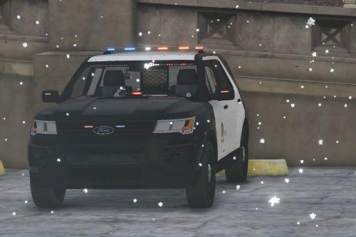2016 Ford Explorer LAPD Texture for FPIU