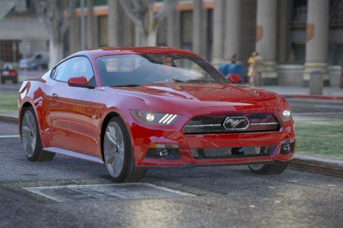2015 Ford Mustang GT 50 Years Special Edition [Add-on/Replace Tuning US-EU Plates]