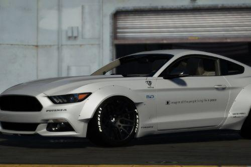 2015 Ford Mustang GT LibertyWalk [Replace/Livery]