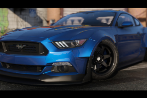2015 Ford Mustang [ Tuning WBody Kit | ShelbyKit | Animated]